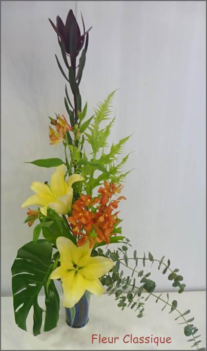 แจกันดอกไม้สดทรงสูง vase flower