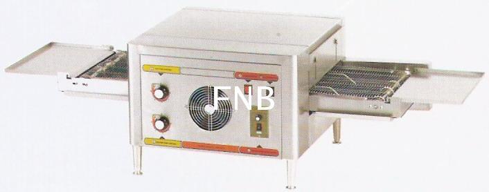 ตู้อบพิซซ่าไฟฟ้าสายพาน[LR-CP-12]