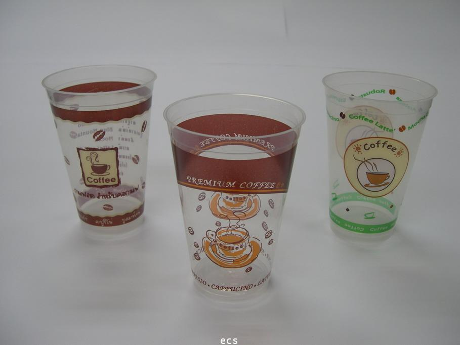 แก้ว PP ฉีด พิพพ์ลาย 16 OZ