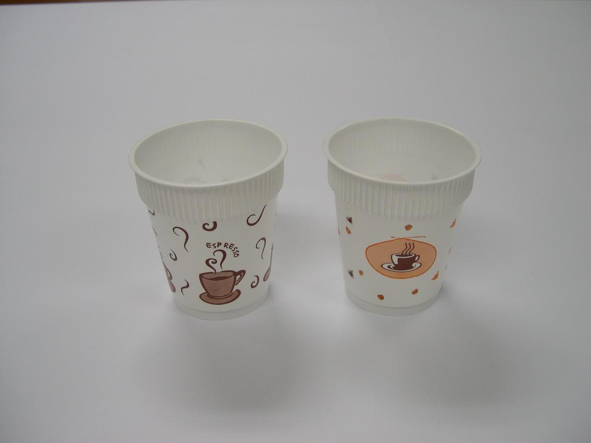 แก้ว PP ฉีด พิพพ์ลาย 8 OZ