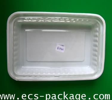 EC021 กล่องพลาสติก 1 ช่อง