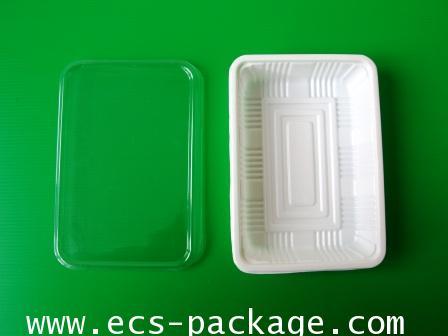 EC029 ถาดอาหาร 1 ช่อง ซูชิ