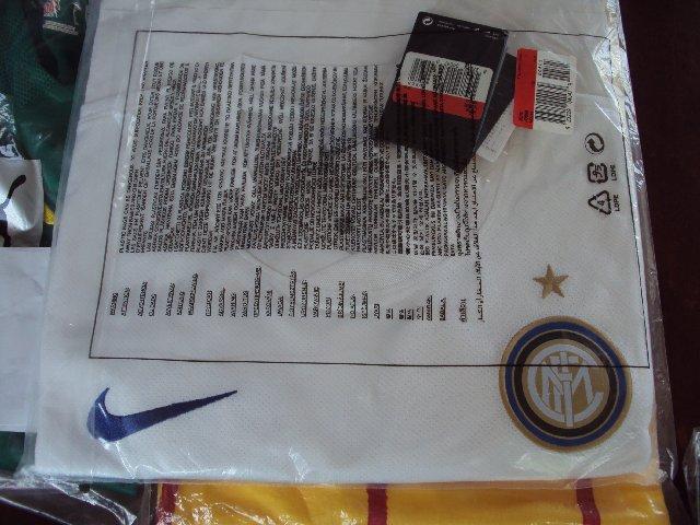 เสื้อNike Inter milan 10/11 away ของแท้
