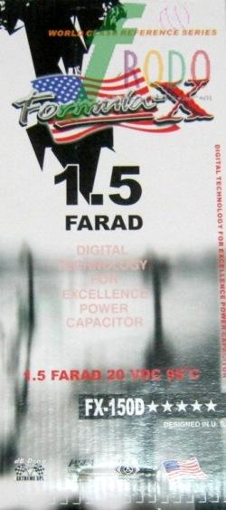 FORMULA -X FX-150D (CAPA) 8