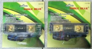 ANGLE BLUE  AG-109 (ฟิวส์เข้า1 ออก 1 )