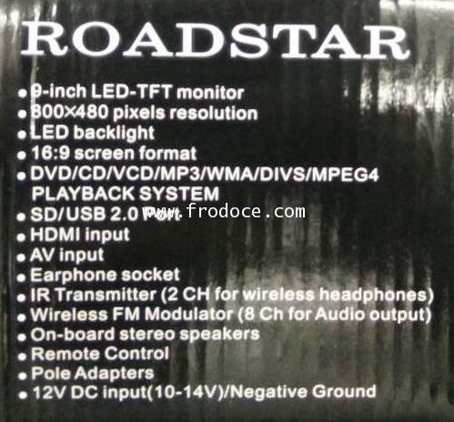 ROADSTAR HR-9099DV 7
