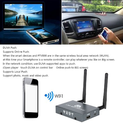 Car Wifi Display (2 เสา ) 4