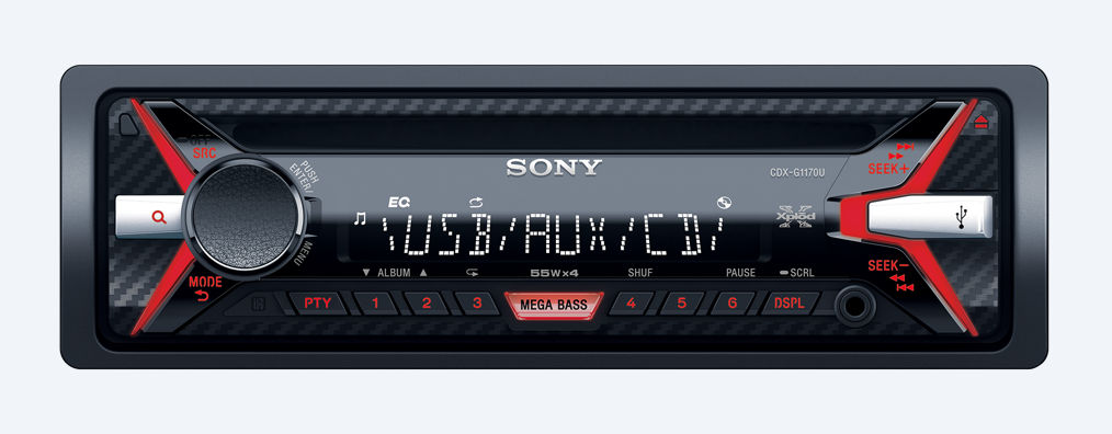 SONY  CDX-G1170U