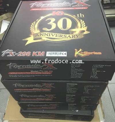 FORMULA-X : FX- 298KM (2 MIC KARAOKE)