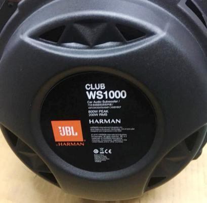 """JBL CLUB-WS1000 (ซับบาง 10"""" ) 7"""