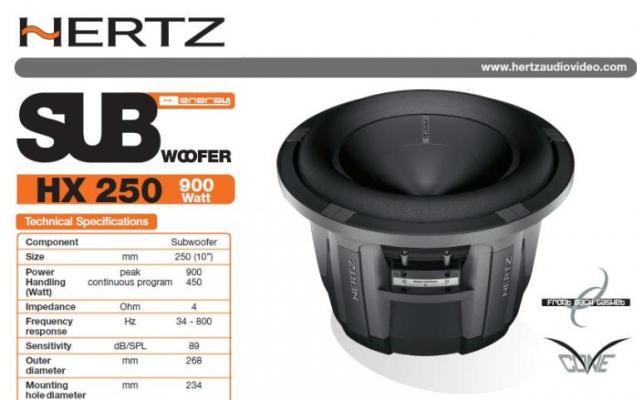 Hertz  HX 250 5