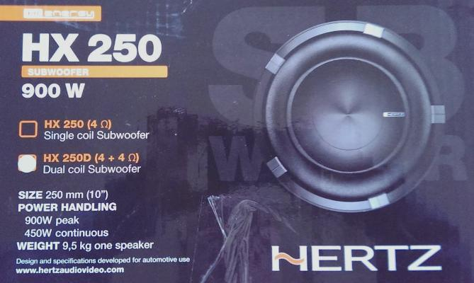 Hertz  HX 250 7