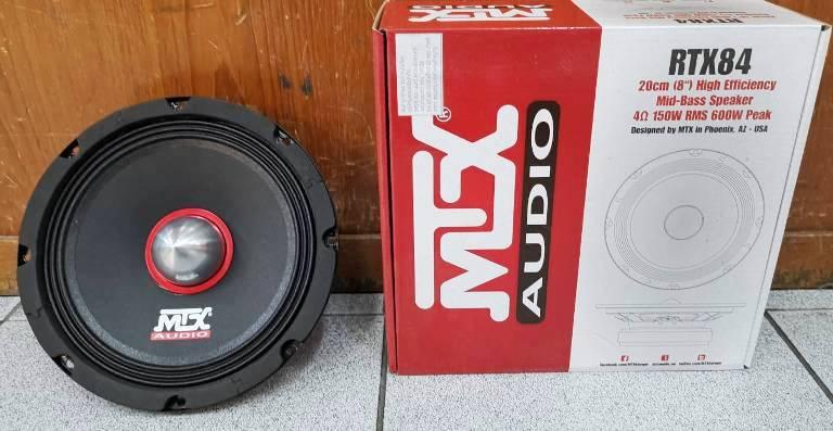 MTX RTX84 (ลำโพงเสียงกลาง 8 นิ้ว)
