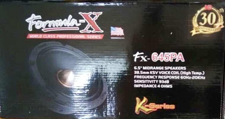 Formula-x Fx-645PA(ลำโพงเสียงกลาง 6.5 นิ้ว)