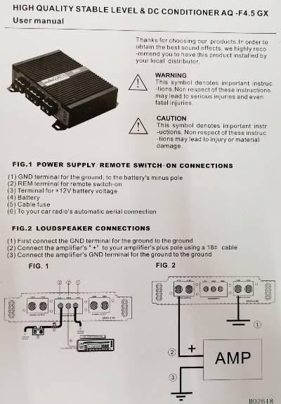 Audio QUART  AQ-F4.5GX 9
