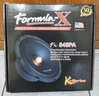Formula-X  Fx-845PA (ลำโพงเสียงกลาง 8 นิ้ว)