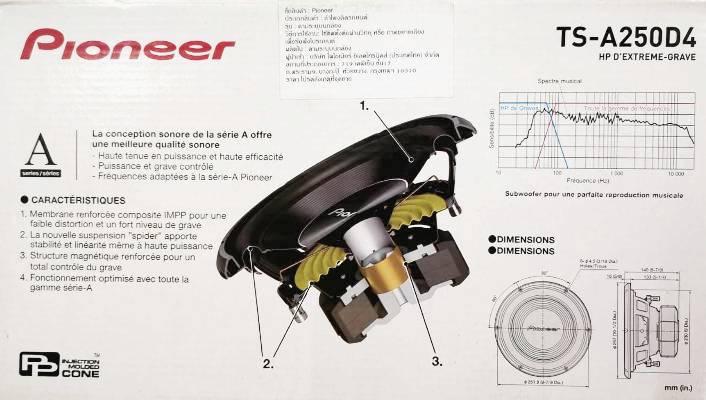 Pioneer TS-A250D4 6