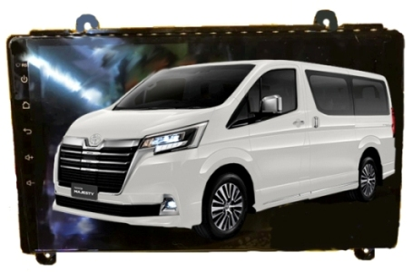 Alpha coustic จอ Android ตรงรุ่นรถ All New Toyota Majesty 2019-20