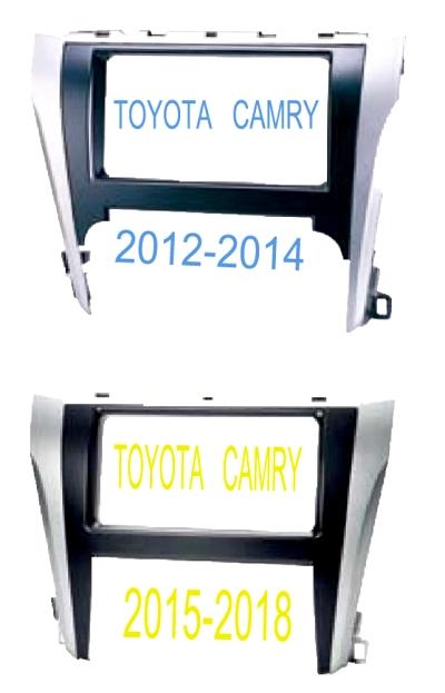 หน้ากากวิทยุ TOYOTA CAMRY 2012-2014และ 2015-2018