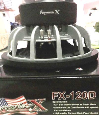 FORMULA-X FX-120D 5