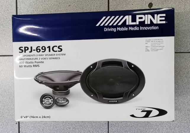 ALPINE SPJ-691CS (ลำโพงแยกชิ้น 6X9 นิ้ว )