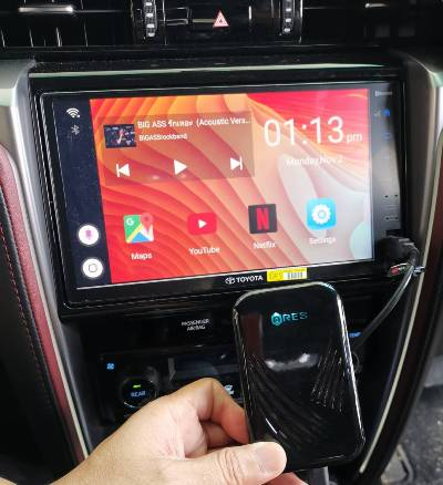 ARES CARPLAY TOUCH PORTABLE (Ram 4   Rom 32) 3