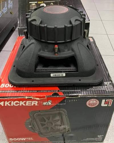 Kicker Solo-Baric L7r 10 inch Square Subwoofer 9