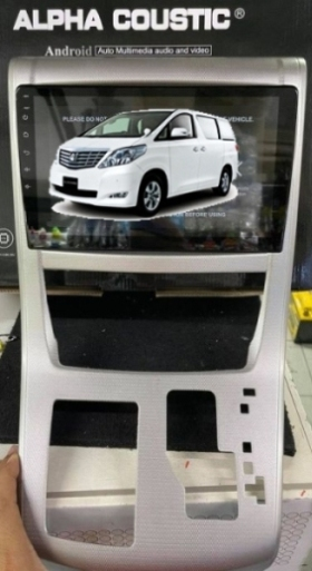 Alpha coustic จอ Android ตรงรุ่นรถ Toyota Alphard 2008+ 1