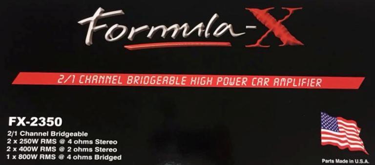 Formula - X FX-2350