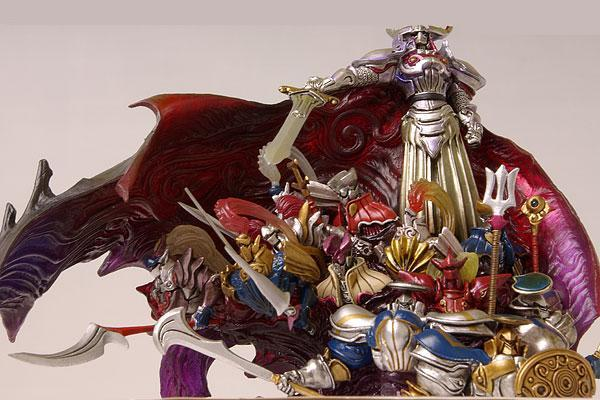 Final Fantasy Master Creatures 2 Knights of The Round