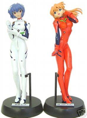 Neon Genesis Evangelion Action Figure  Rei Ayanami 1