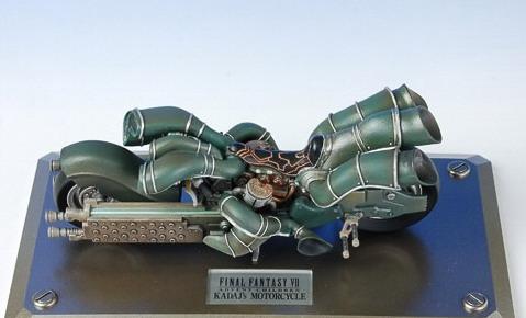 Final Fantasy Mechanical Arts: Kadaj\'s Motorcycle from Final Fantasy VII Advent Children 1