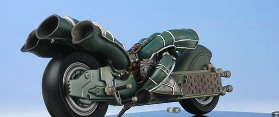 Final Fantasy Mechanical Arts: Kadaj\'s Motorcycle from Final Fantasy VII Advent Children 3