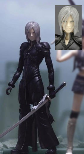 Final Fantasy VII : Kadaj  (Advent Children Play Arts Vol. 2) 1