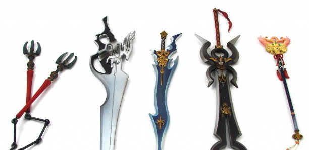 Weapons Set for Final Fantasy Play Arts