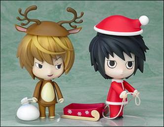 Death Note - Nendoroid L  Light Christmas Ver