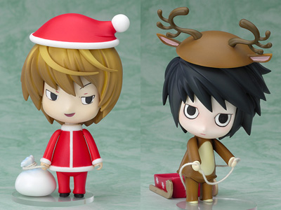 Death Note - Nendoroid L  Light Christmas Ver 1