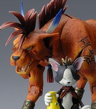 Final Fantasy VII Play Arts Action Figure Play Art : Cait  Red XIII