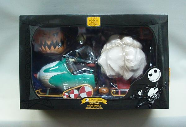 NIGHTMARE BEFORE CHRISTMAS REMOTE SNOW MOBILE 2