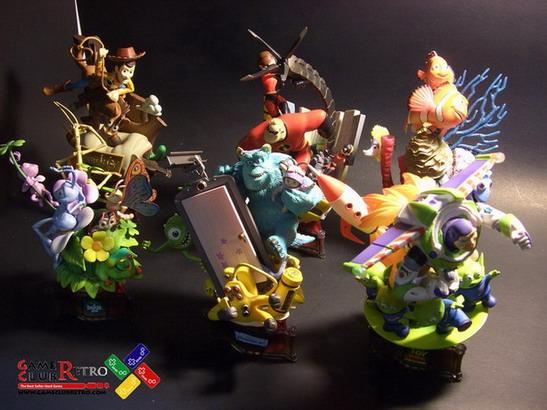 Disney Pixar Pixar Formation Arts I Complete Set of 6