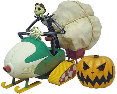 NIGHTMARE BEFORE CHRISTMAS REMOTE SNOW MOBILE 3
