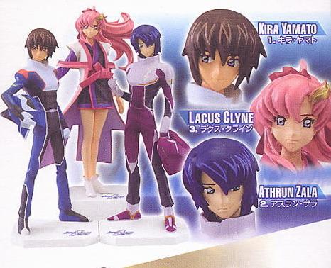 Gundam Seed Destiny EF Collection 3 Kira-Clyne-Athrun