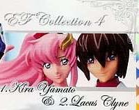 Gundam Seed Destiny EF Collection 4 Kira Yamato-Lacus Clyne