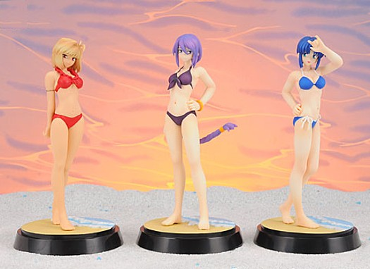 Melty Blood Act Cadenza EX Summer Beach Figure x3