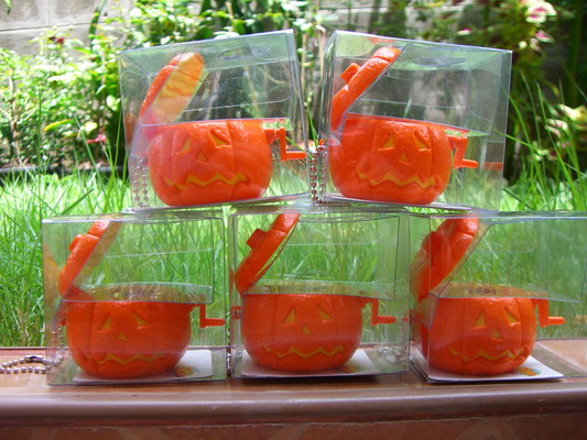 Nightmare Before Chistmas Pumpkin set of 5