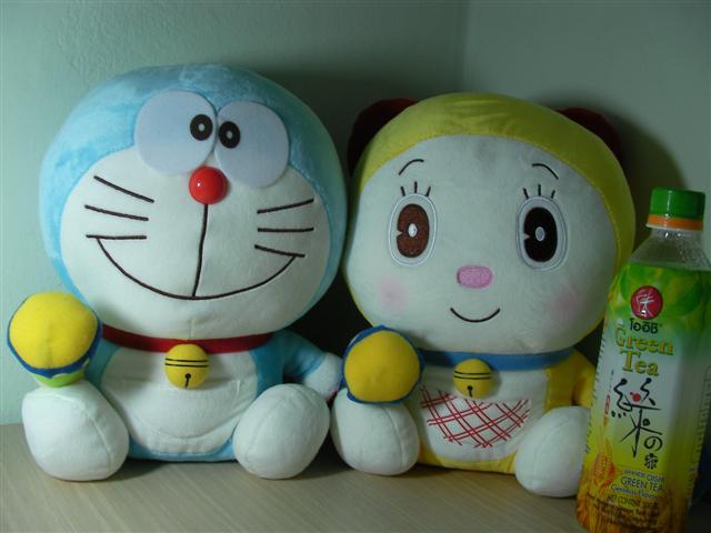 Doraemon ตุ๊กตาโดเรม่อน และโดเรมี่