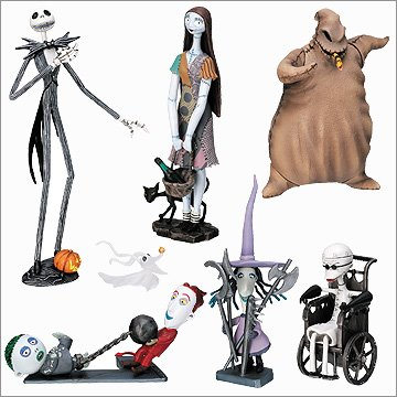 Nightmare Before Chistmas Set of 7