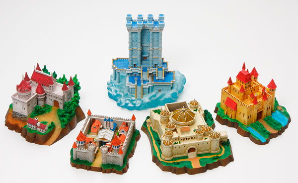 Dragon Quest World Gallery Castle Town