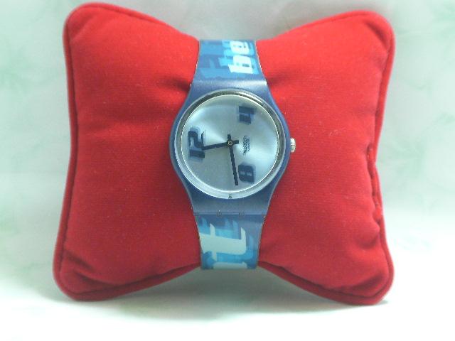 SWATCH  นาฬิกาสวอท์ช สีน้ำเงิน  สินค้ามือ 2