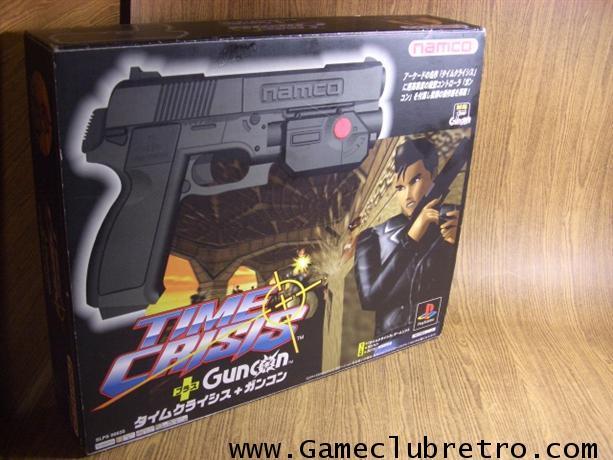 Time Crisis Bundle with Guncom